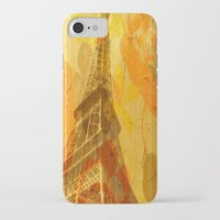 eiffel iPhone & iPod Cases featuring Eiffel by 3crows