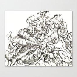 Botanical Abstract #7 Canvas Print