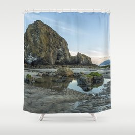 Morning at Cannon Beach Shower Curtain