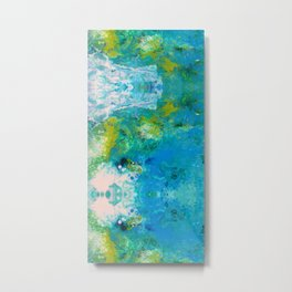 C Foam Crashes Metal Print