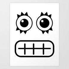 :::dientes::: Art Print