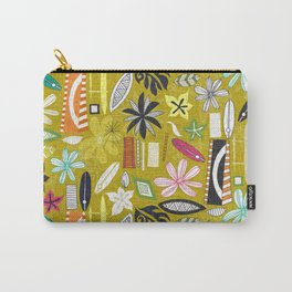 beachy yellow Carry-All Pouch