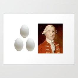 Eggs Benedict Art Print