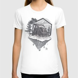 Lonely Snow House T-shirt