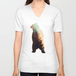 Norwegian Woods: Bear Unisex V-Neck