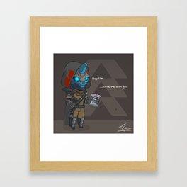Rogue Stalker Framed Art Print