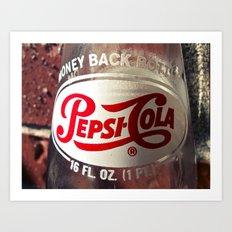 Pepsi-Cola Americana Art Print