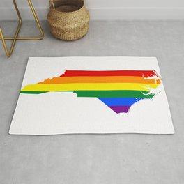 LGBT North Carolina Rug
