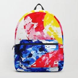 Colorado Watercolor Flag Backpack