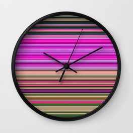 Foxgloves Wall Clock