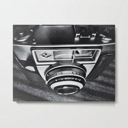 Agfa Camera Metal Print