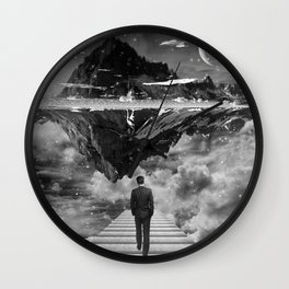 Black & White Collection -- Wandering Wall Clock