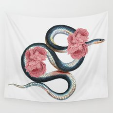 Serpent of love Wall Tapestry