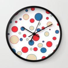 polka dot abstract Wall Clock