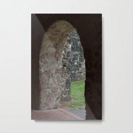 Stone doorway Metal Print