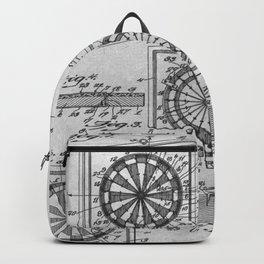Dart board Backpack