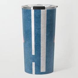 60s Presley Stripes Travel Mug