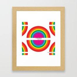 Rainbow Ghost - Jimmy Framed Art Print