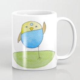 Blue Birdie Coffee Mug