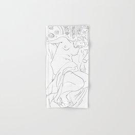 Matisse Line Art #4 Hand & Bath Towel