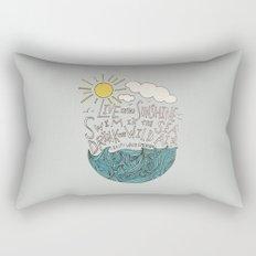 Emerson: Live in the Sunshine Rectangular Pillow