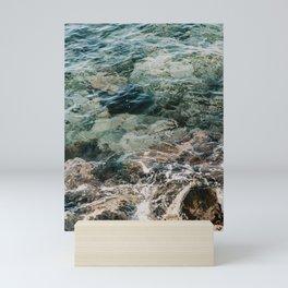 Caribbean Sea || Blue Curaçao || Ocean || Nature Photography || Natural Colours || Wall Art Mini Art Print