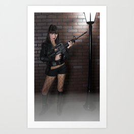 Don't mess with me! Art Print