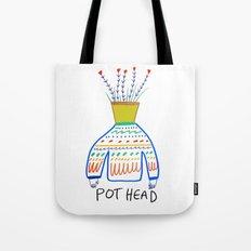 Pot head. Tote Bag