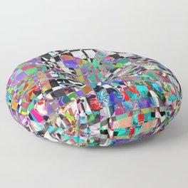 Mosaic Mountain Floor Pillow