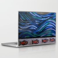 the cure Laptop & iPad Skins featuring The Cure by Jeanne Hollington