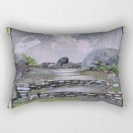 WALKWAY TO THE HANGING GLACIER Rectangular Pillow
