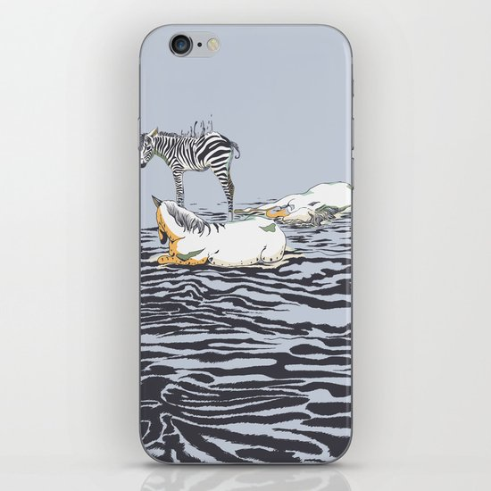 RESTING WITH YOU iPhone & iPod Skin