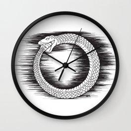 Ouroboros Revolutionary Symbol Wall Clock