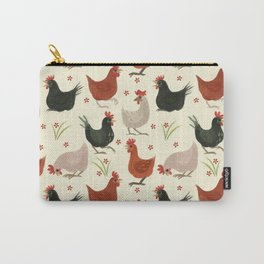 CHICKEN LADIES Carry-All Pouch