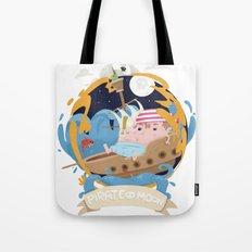Pirate moon Tote Bag