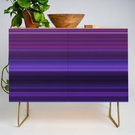 Abstract mixed stripes Purple Dark Credenza