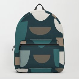 Turquoise Bowls Backpack