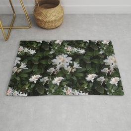 BLOOMING RHODODENDRON  Rug