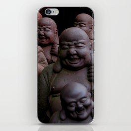 Laughing Buddhas iPhone Skin