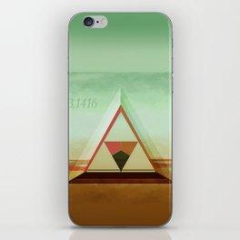 3,1416 iPhone Skin