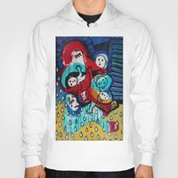 madonna Hoodies featuring Lady Madonna by Lisa Brown Gallery