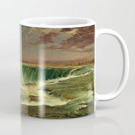 Niagara Falls Portrait by Frederic Edwin Church Coffee Mug