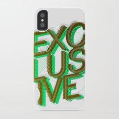 #exclusive Slim Case iPhone X