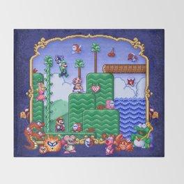 Mario Super Bros, Too Throw Blanket