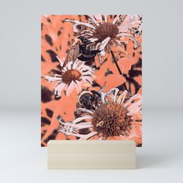 Bumbling Bees VIII Mini Art Print