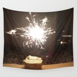 CUPCAKE SPARKLE Wall Tapestry