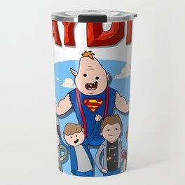 Never Say Die! Travel Mug