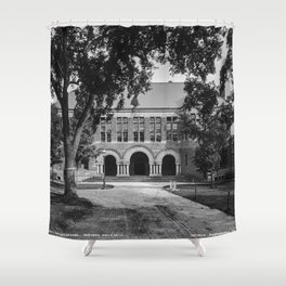 1906 photo of the Law School at Harvard College Shower Curtain