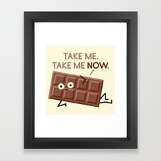 Sweet Talk Framed Art Print