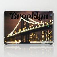 brooklyn iPad Cases featuring Brooklyn by Isabel Lee Art